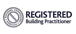 victorian registered builder logo