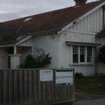 before house facade
