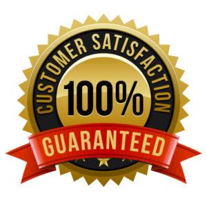 Customer satisfaction guarantees