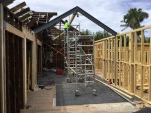 home build in progress