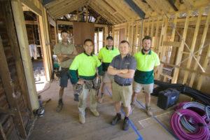 the gaia construction melbourne building team