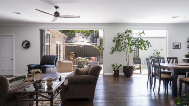 brighton living area timber flooring